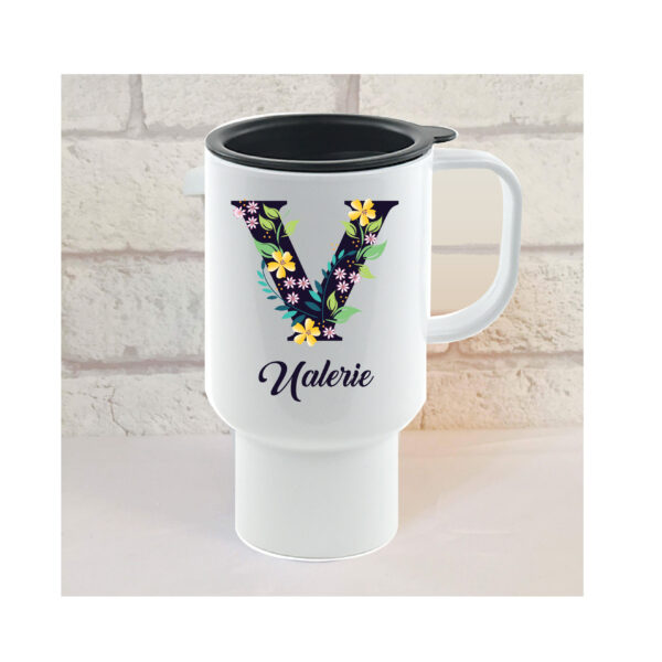 personalised friend travel mug by Beautifully Obscene