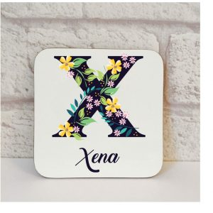 personalised best friend coaster by Beautifully Obscene