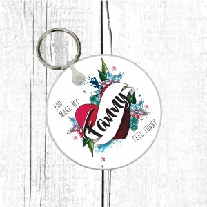 lgbt keyring by Beautifully Obscene