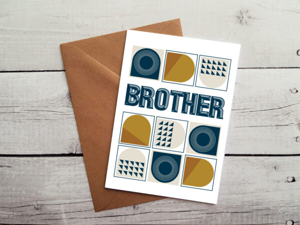 brother greetings cards