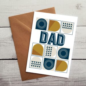 dad greetings cards by Beautifully Obscene