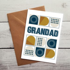 grandad greetings cards by Beautifully Obscene