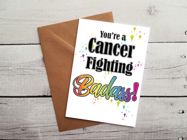 cancer survivor card by Beautifully Obscene