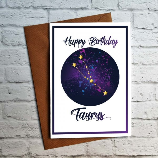 taurus birthday card by Beautifully Obscene