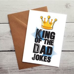dad jokes occasion card by Beautifully Obscene