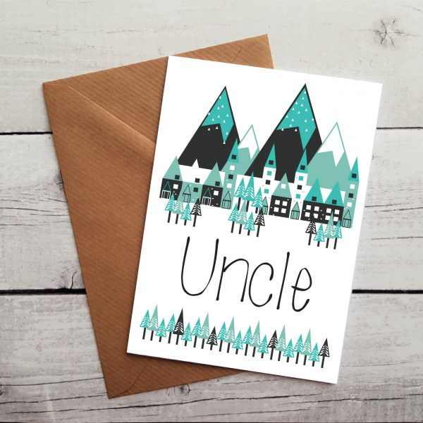 uncle birthday card by Beautifully Obscene