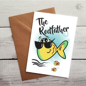 fishing fathers day card by Beautifully Obscene