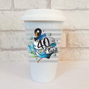 40 birthday mug by Beautifully Obscene