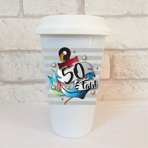 50 birthday mug by Beautifully Obscene
