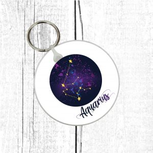 aquarius keyring by Beautifully Obscene