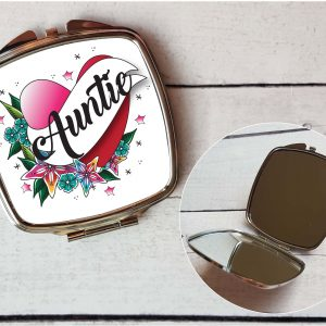 auntie pocket mirror by Beautifully Obscene