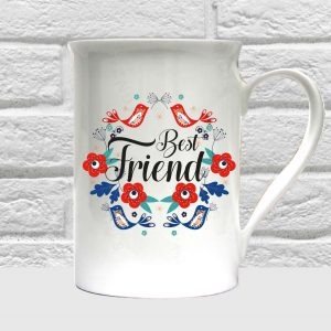 best friend bone china coffee mug by Beautifully Obscene