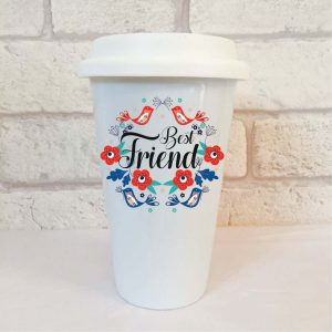 best friend travel mug gift by Beautifully Obscene