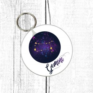 gemini keyring by Beautifully Obscene