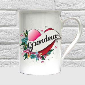 grandma bone china mug by Beautifully Obscene