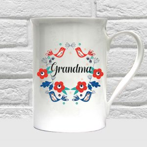 grandma bone china coffee mug by Beautifully Obscene