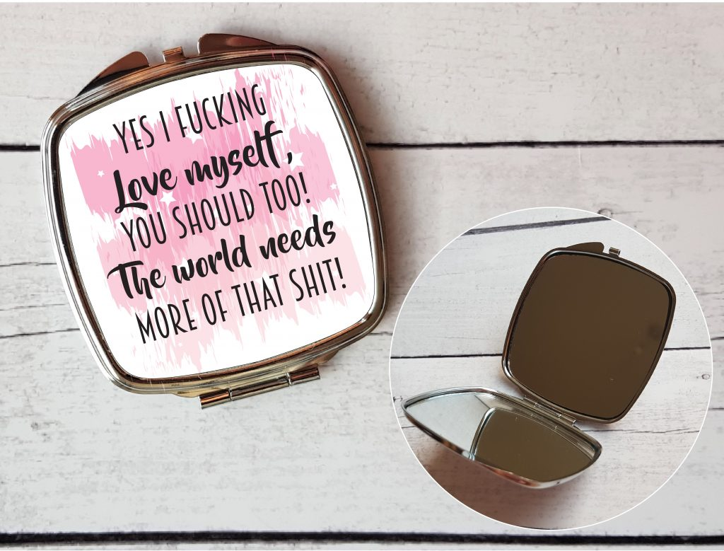 compact mirrors By Beautifully Obscene