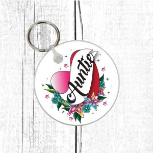 auntie keychain by Beautifully Obscene