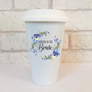 mother of the bride travel mug by Beautifully Obscene