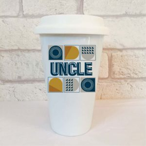 uncle travel mug by Beautifully Obscene