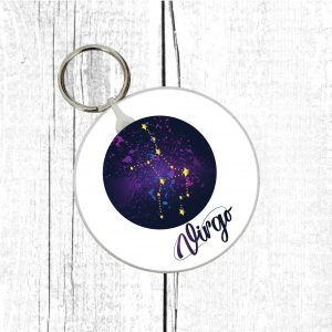 virgo keyring by Beautifully Obscene