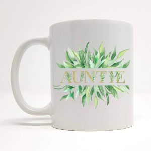 auntie coffee mug by Beautifully Obscene