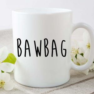 bawbag mug by Beautifully Obscene