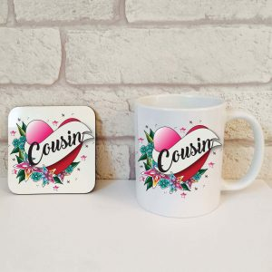 cousin mug gift set by Beautifully Obscene