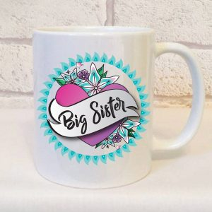 big sister mug by Beautifully Obscene