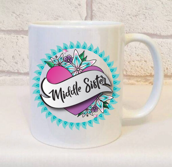 middle sister mug by Beautifully Obscene