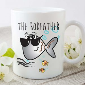 rodfather coffee mug by Beautifully Obscene