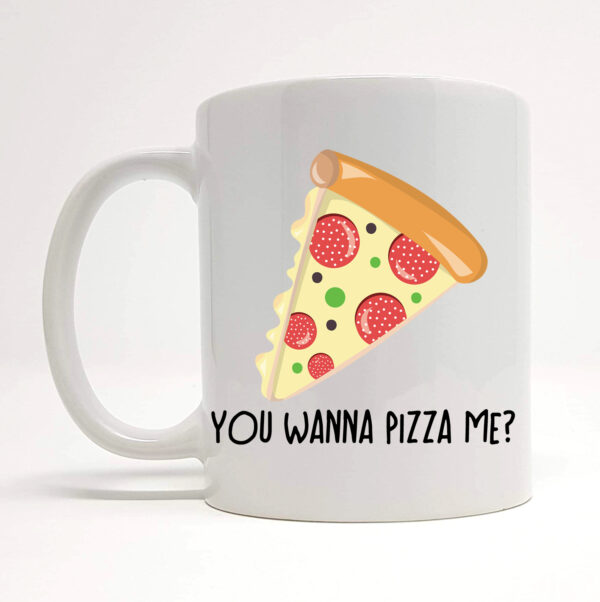 pizza mug by Beautifully Obscene