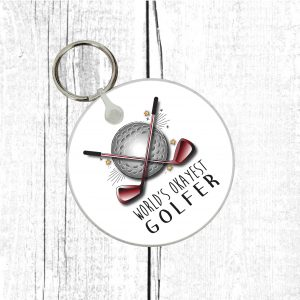 Golf Lover Keyring.