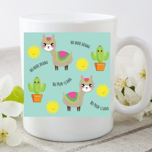 llama mug by Beautifully Obscene