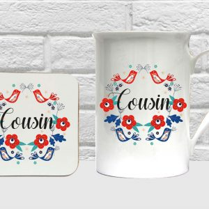 cousin bone china set by Beautifully Obscene