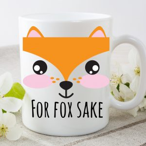 Novelty Fox Mug.