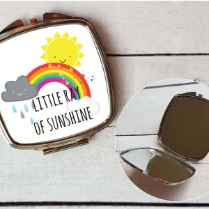 little ray of sunshine mirror by Beautifully Obscene