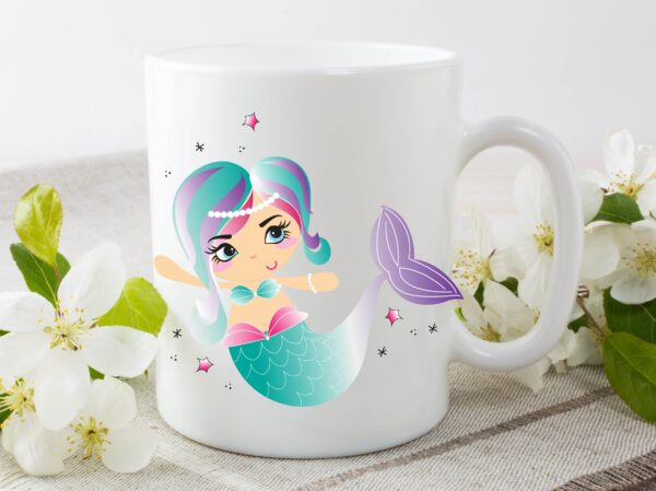 mermaid mug by Beautifully Obscene