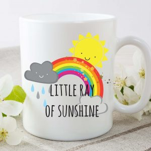 ray of sunshine mug by Beautifully Obscene