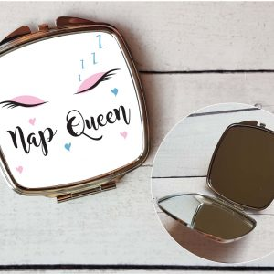 nap queen pocket mirror by Beautifully Obscene