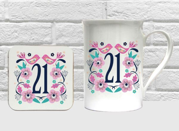 21 bone china set by Beautifully Obscene