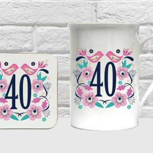40 bone china set by Beautifully Obscene