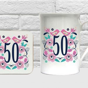 50 bone china set by Beautifully Obscene