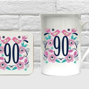 90 bone china set by Beautifully Obscene