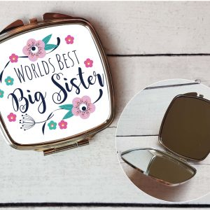 worlds best big sister mirror by Beautifully Obscene