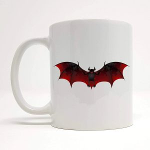 bat coffee mug by Beautifully Obscene