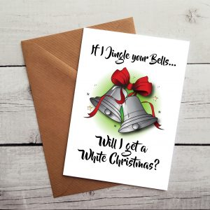 funny husband christmas card by Beautifully Obscene