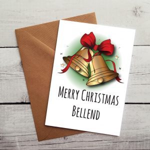 merry christmas bellend card by Beautifully Obscene