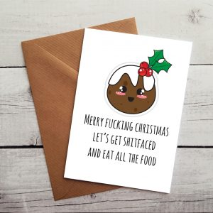 funny christmas card by Beautifully Obscene