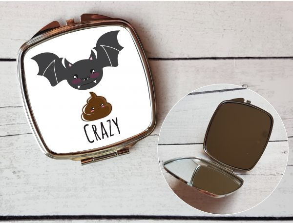 bat shit crazy compact by Beautifully Obscene